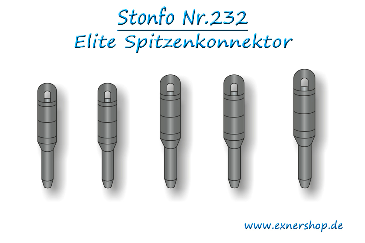 STONFO Art.232-S Elite Beutel mit 2 St/ück 0,75 mm